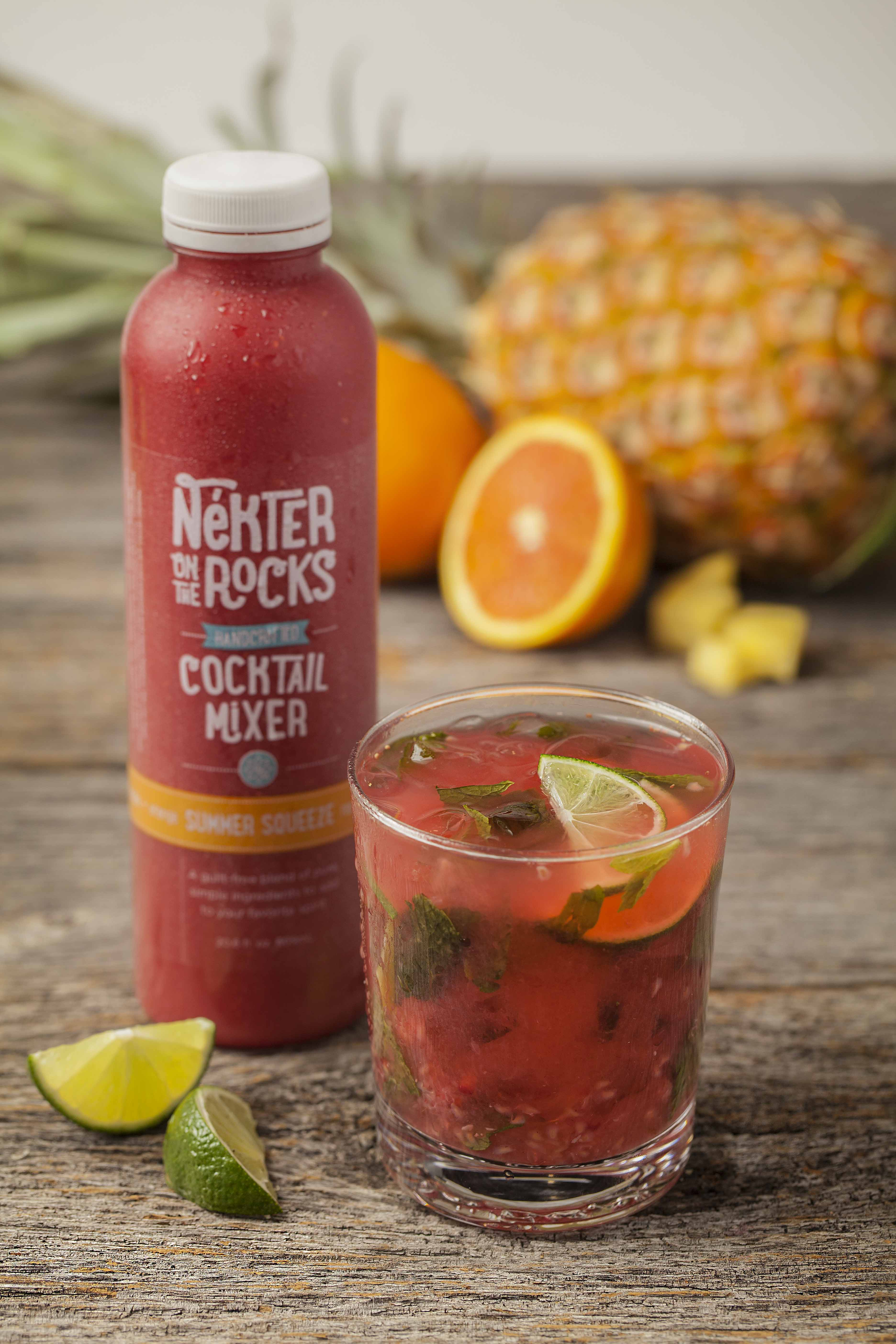 tropical cocktails, summer cocktails, skinny cocktails
