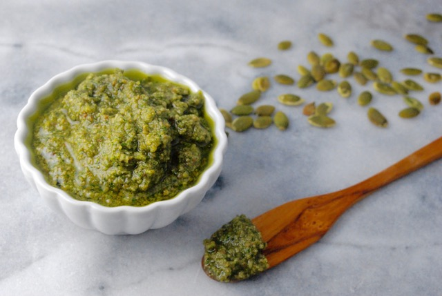Need pumpkin seed inspiration? Try this simple spread.