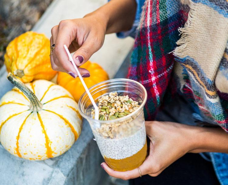 Pumpkin Chia Parfait