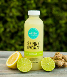 Nekter GInger Lime Skinny Lemonade