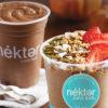 Nekter Cold Brew Protein Smoothie and Pumpkin Almond Bowl